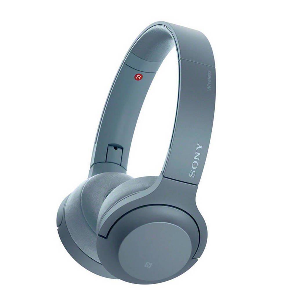 Sony On-ear bluetooth koptelefoon WH-H800 blauw, Blauw