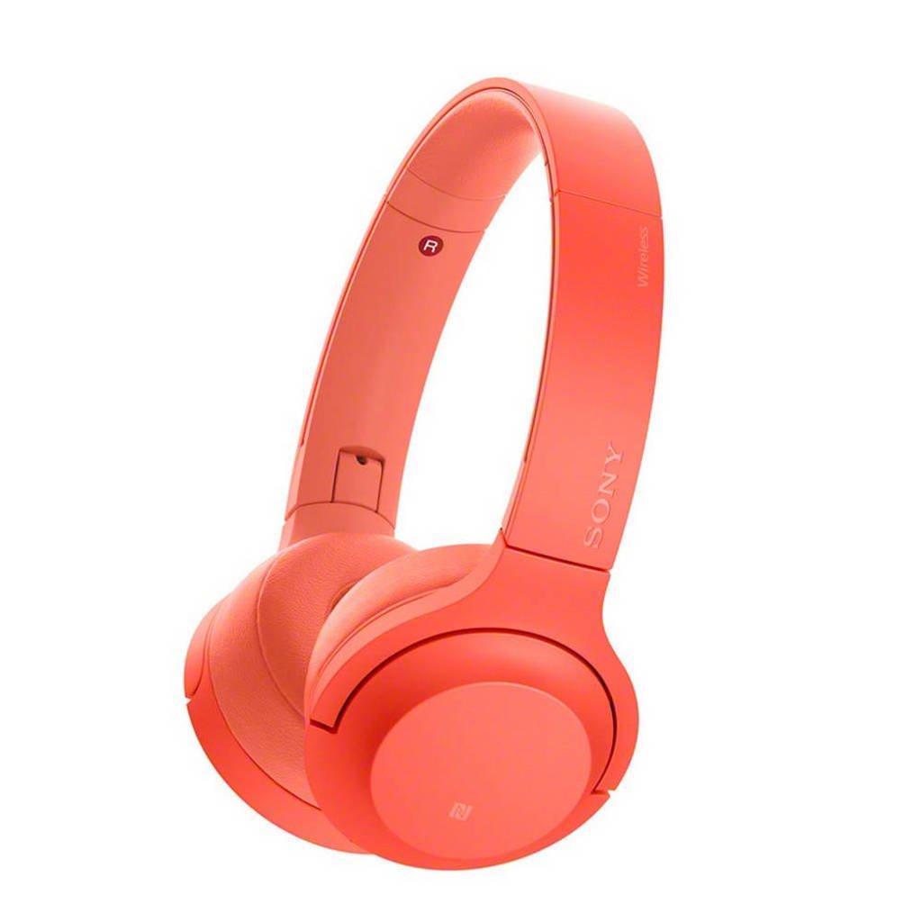 Sony On-ear bluetooth koptelefoon WH-H800 rood, Rood