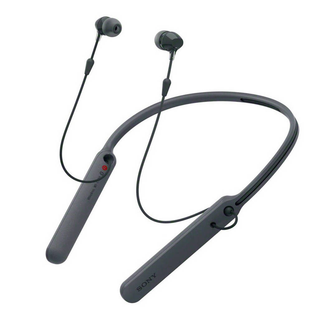 Sony In-ear bluetooth koptelefoon WI-C400 Zwart