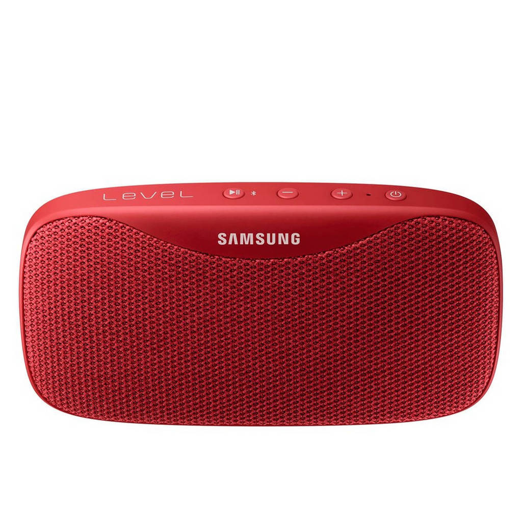 Samsung Level Box Slim  bluetooth speaker rood, Rood