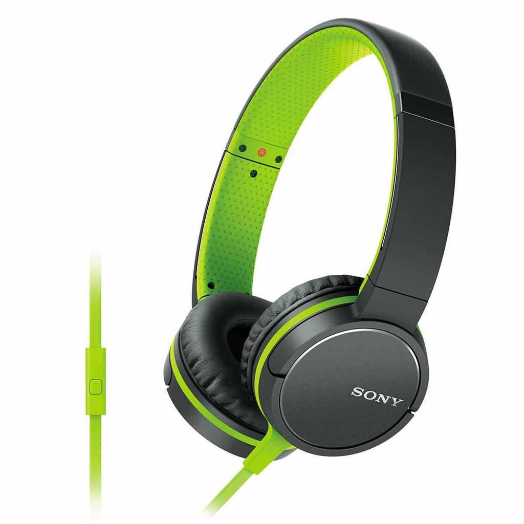 Sony MDRZX660 on-ear koptelefoon groen, Groen