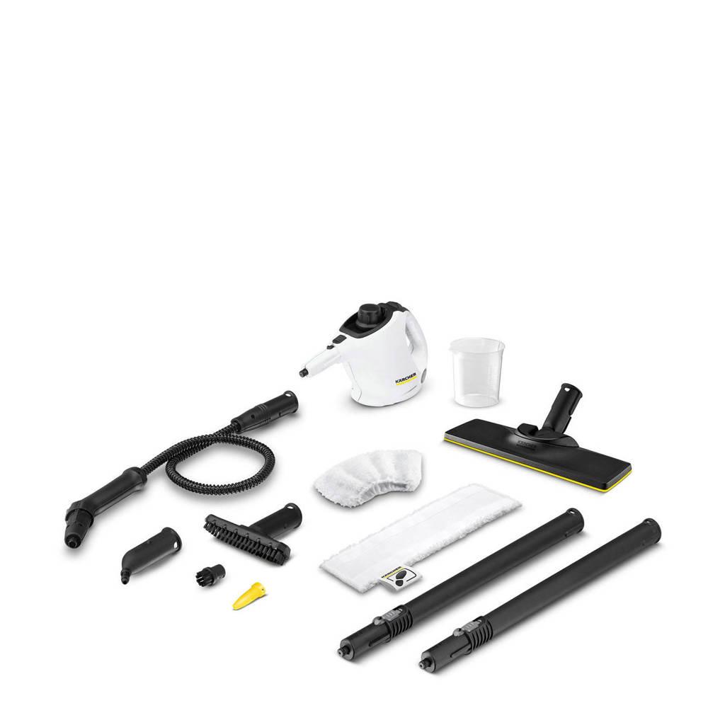 Kärcher SC 1 Easyfix  Premium 2 in 1 stoommop, Zwart, wit