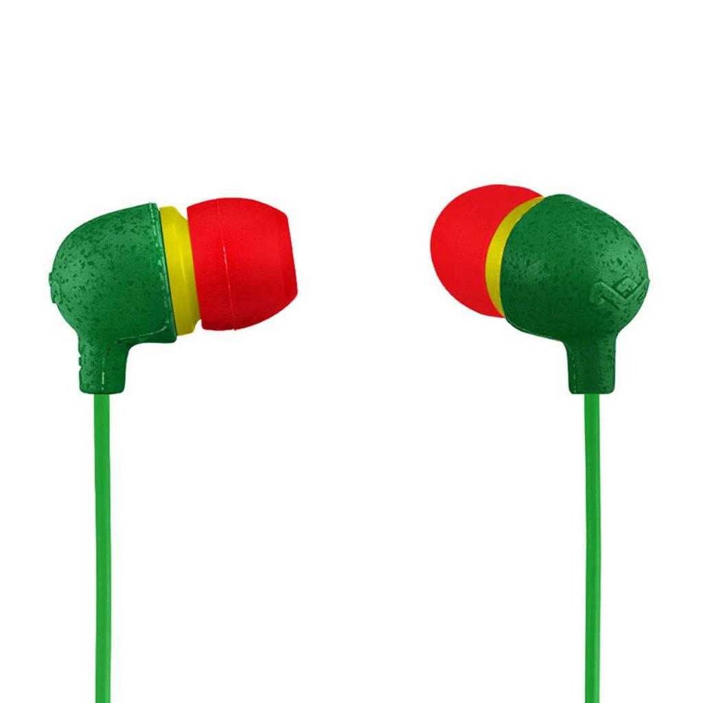 House of Marley In-ear koptelefoon rasta, Rasta