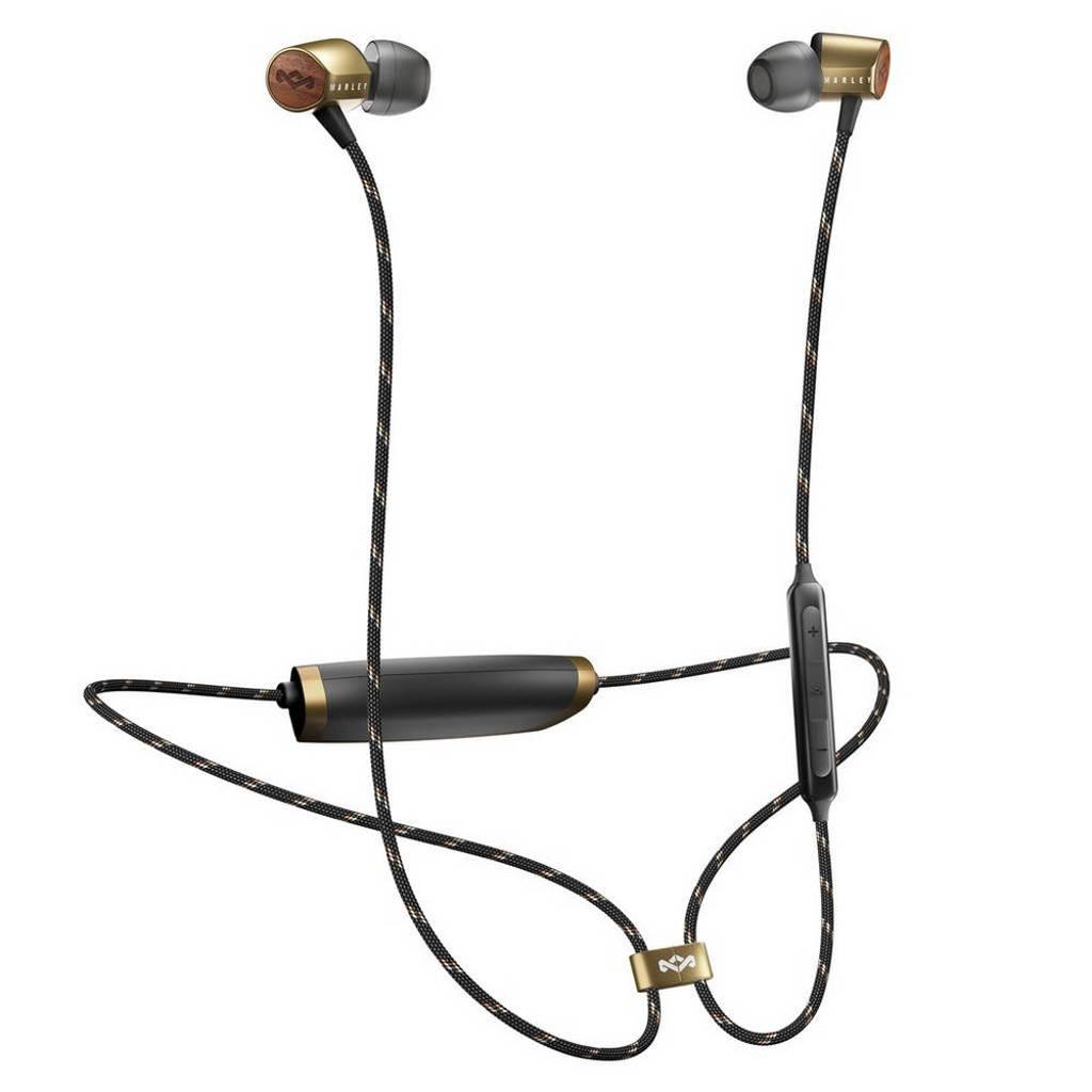 House of Marley in-ear bluetooth koptelefoon Uplift 2.0, Goud