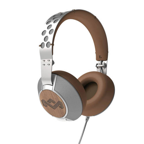 House of Marley Liberate XL over ear koptelefoon zilver kopen