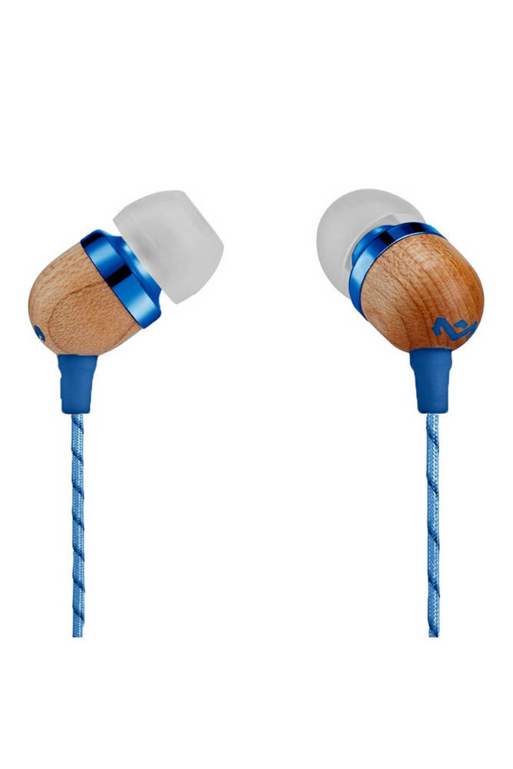 House of Marley Smile Jamaica Denim in-ear koptelefoon blauw, Blauw