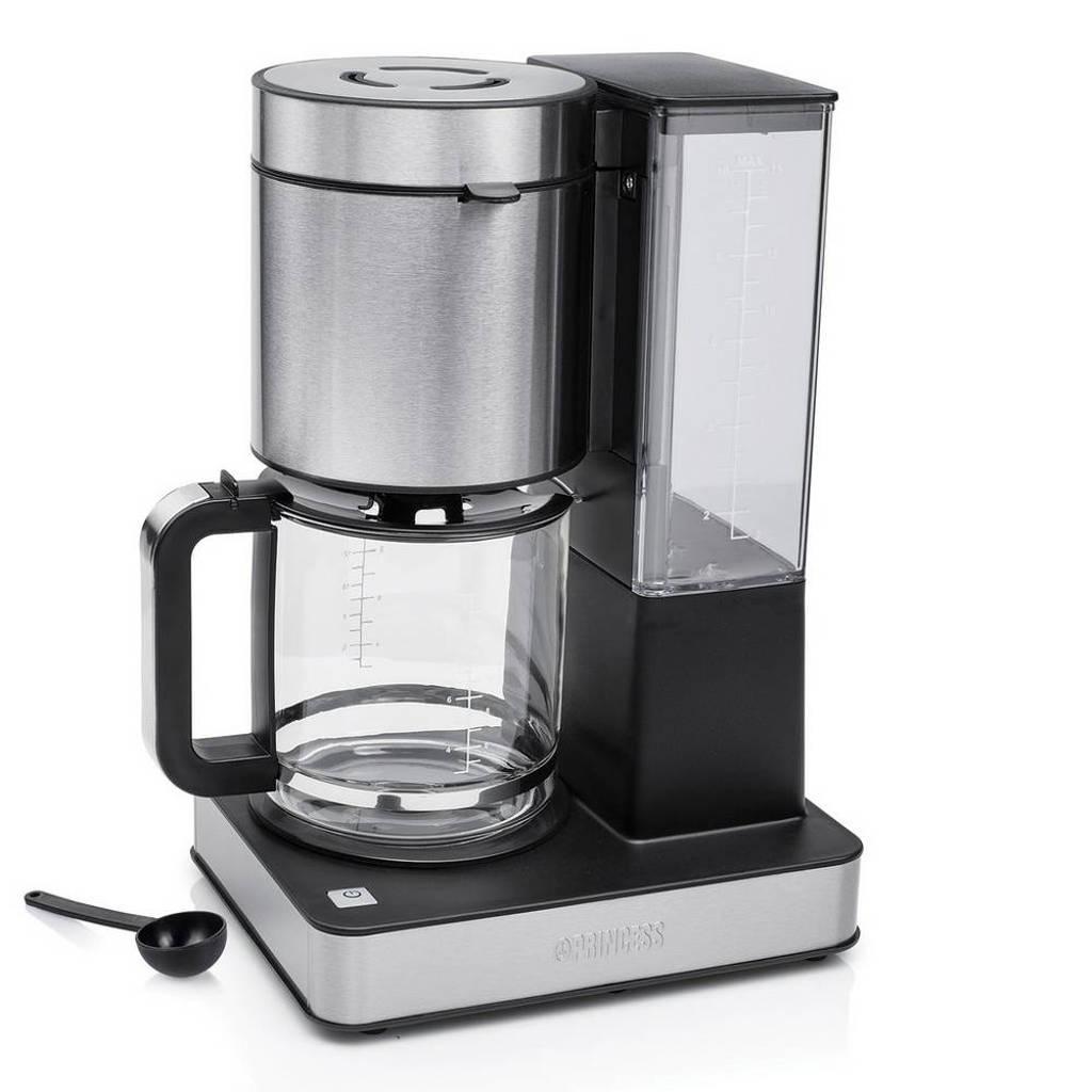 Princess Superior koffiezetapparaat 246002, Zwart, Roestvrij staal