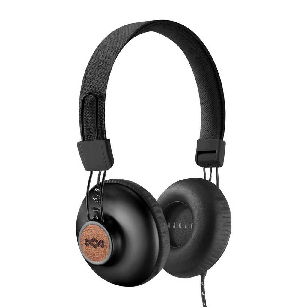 House of Marley Positive Vibration 2.0 on-ear koptelefoon Positive Vibration 2.0 zwart, Zwart