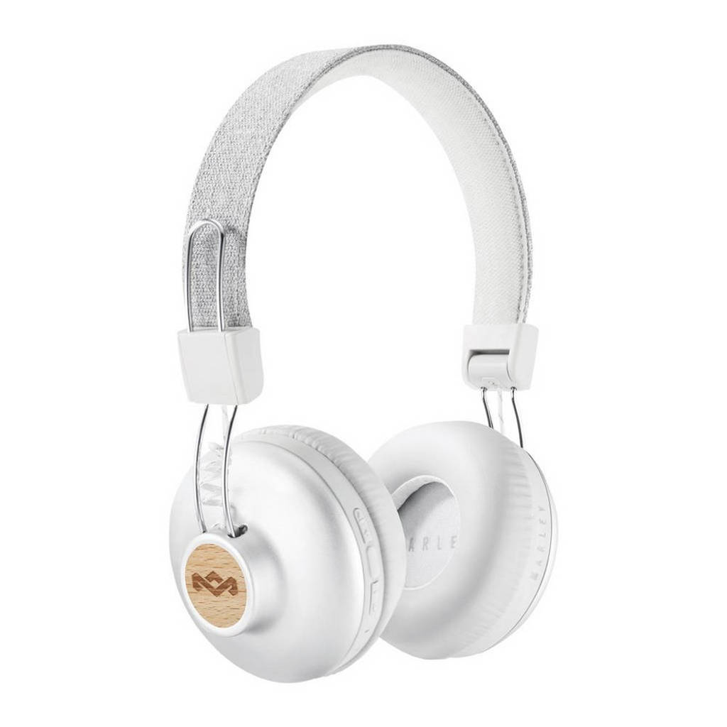 House of Marley Positive Vibration BT on-ear bluetooth koptelefoon Zilver