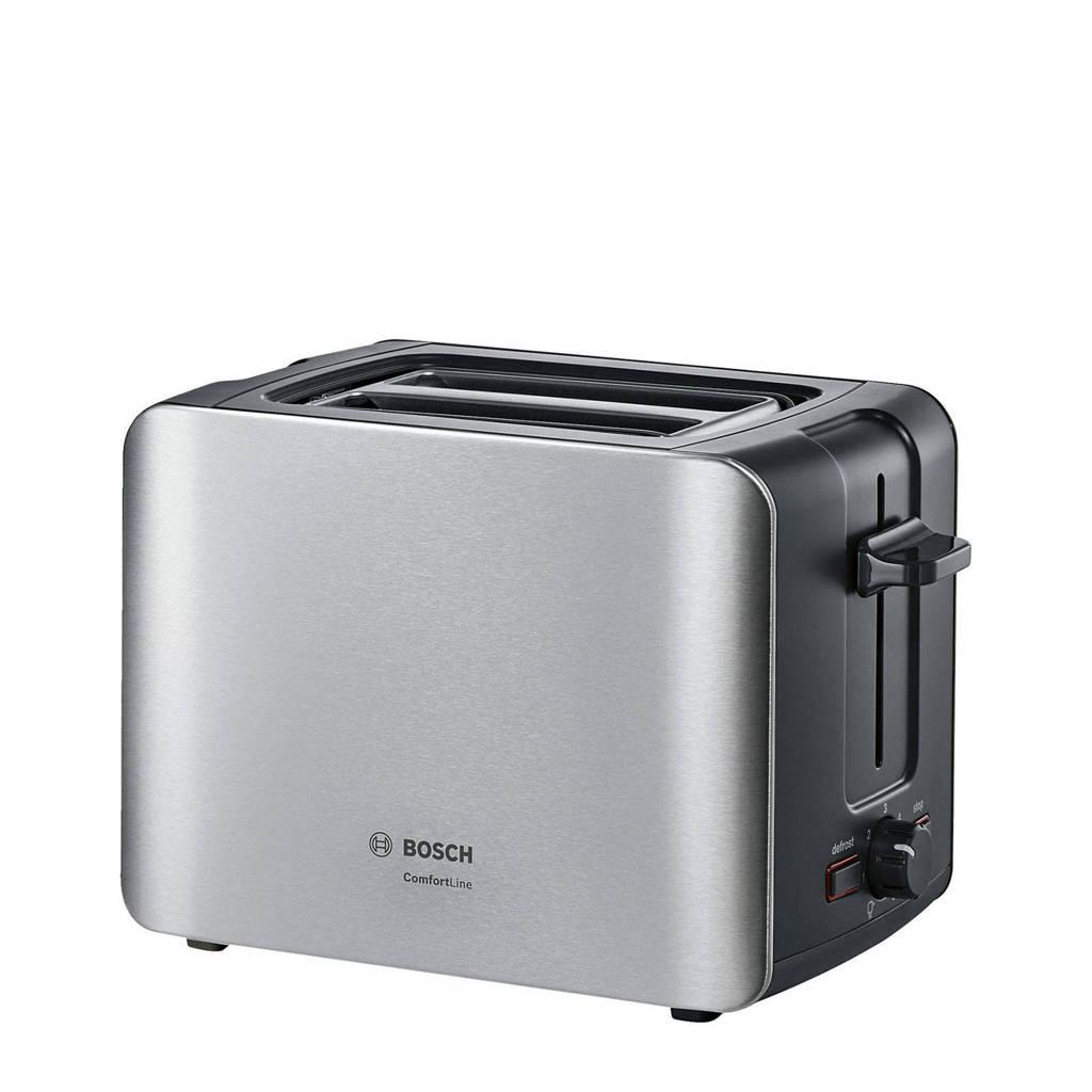 Bosch TAT6A913 ComfortLine broodrooster, Zwart, Roestvrij staal