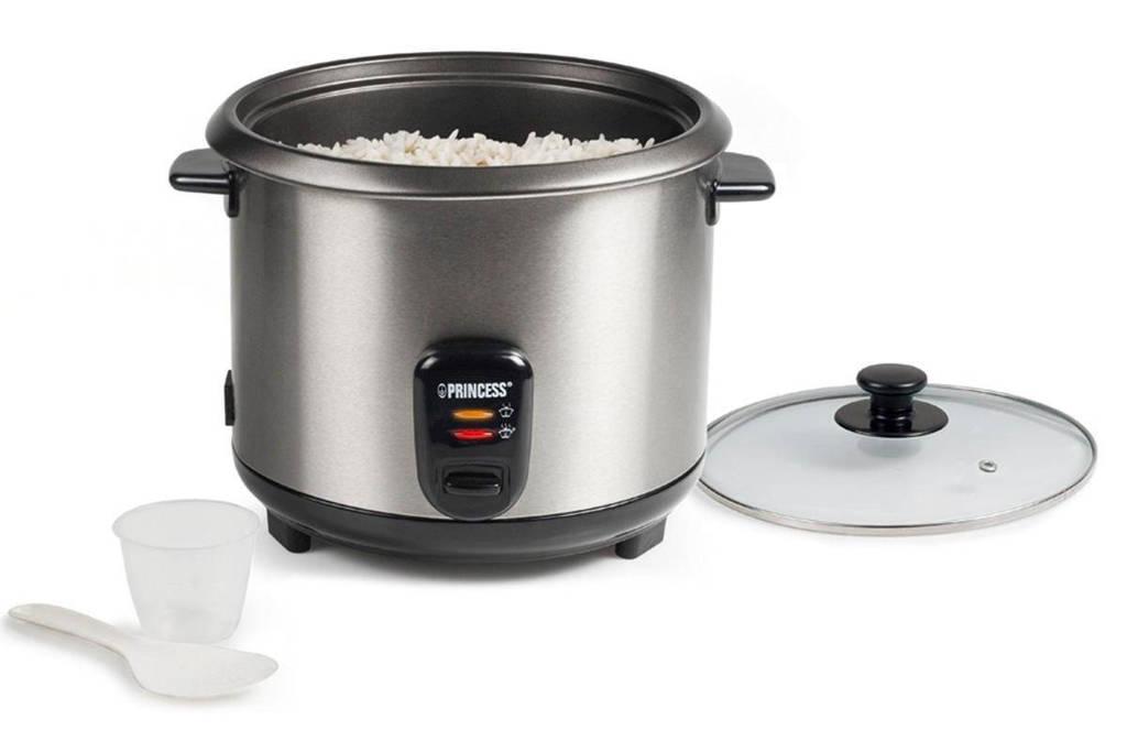 Princess Rice 271950 rijstkoker, Zwart, Roestvrij staal