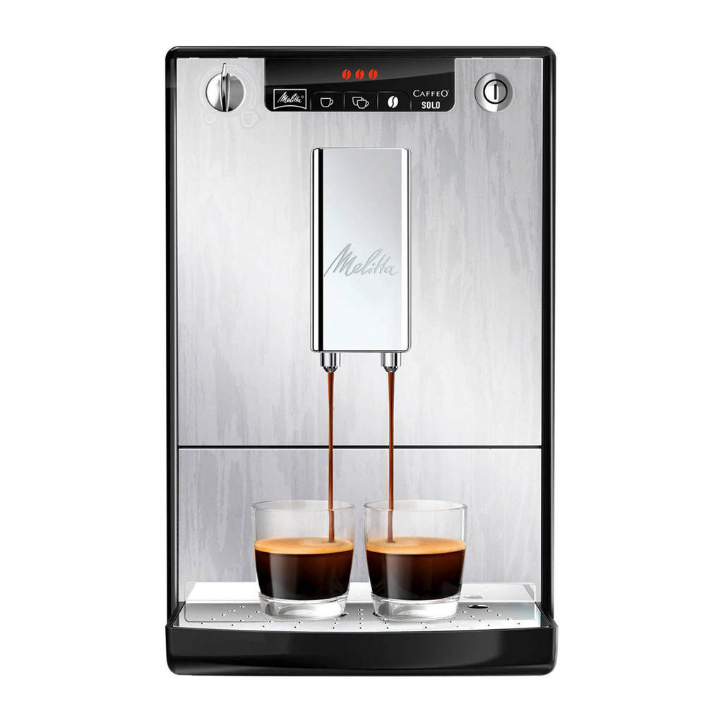 Melitta Caffeo Solo Organic Silver Limited Edition E950-111 koffiemachine, N.v.t.