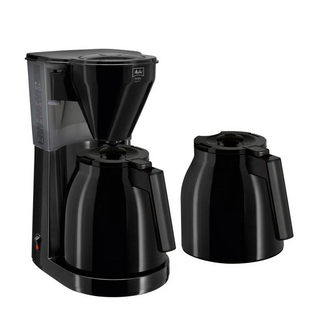 Melitta Easy Therm koffiezetapparaat met extra kan, Zwart