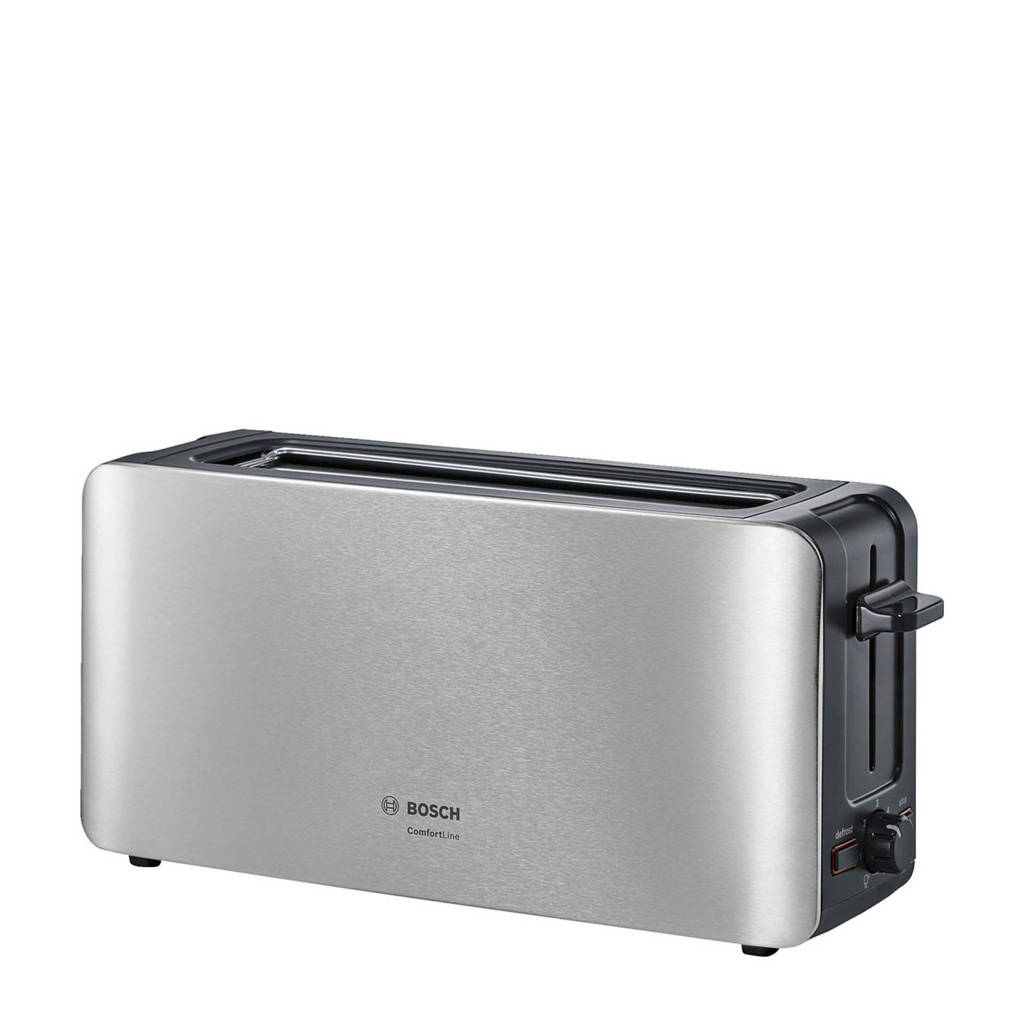 Bosch TAT6A803 ComfortLine broodrooster, RVS/zwart
