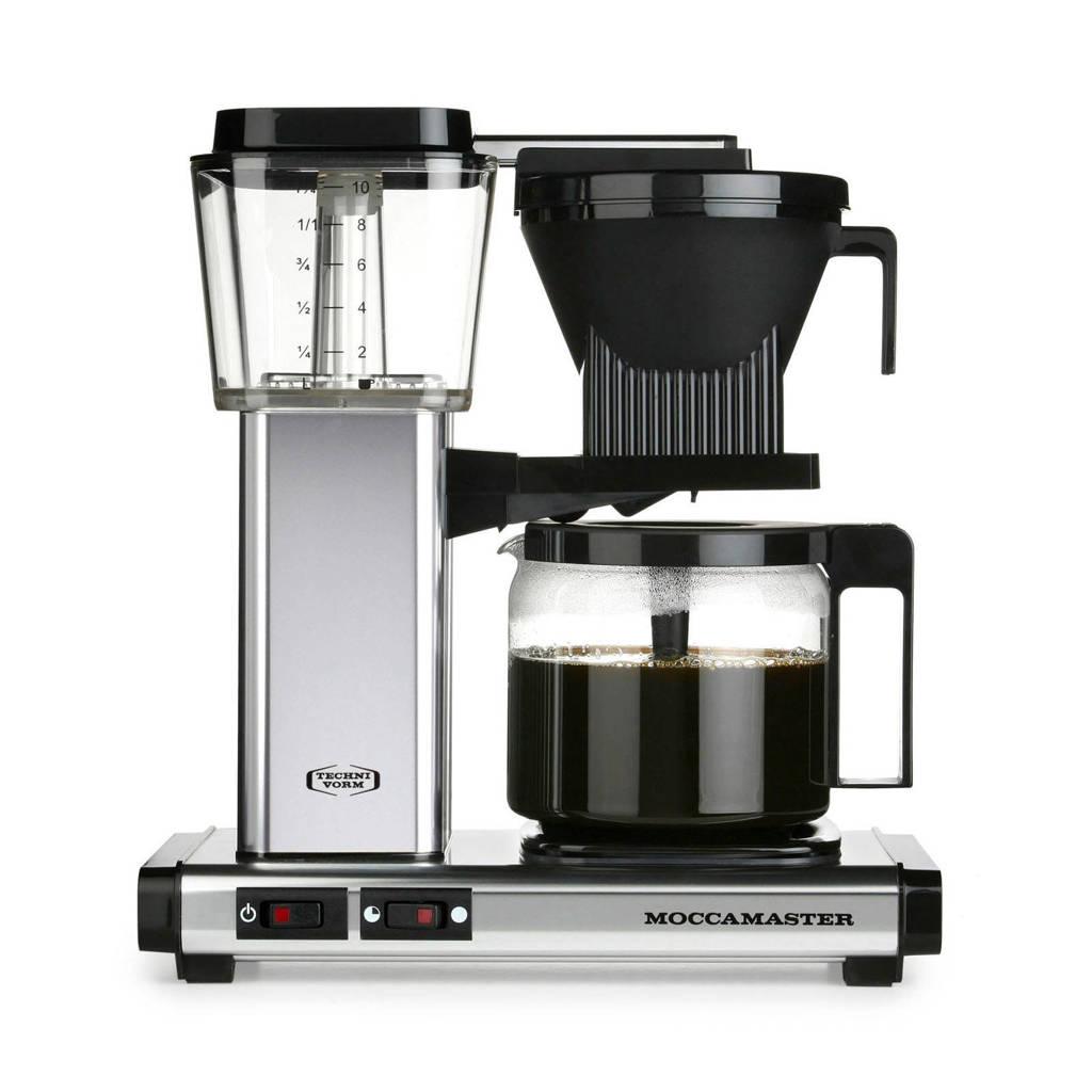 Moccamaster KB741 AO koffiezetapparaat, Zilver