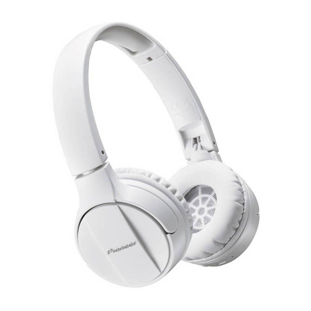 Pioneer On-ear bluetooth koptelefoon SE-MJ553BT Wit