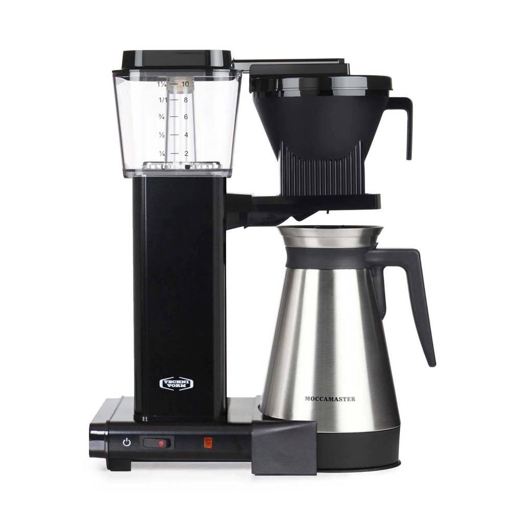 Moccamaster KBGT 741 Thermos koffiezetapparaat, zwart met grijs