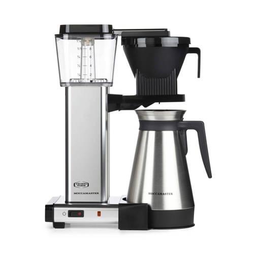 MOCCAMASTER KBGT741 RVS MAT koffiezetter