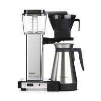 Moccamaster KBGT 741 Thermos koffiezetapparaat, Zilver