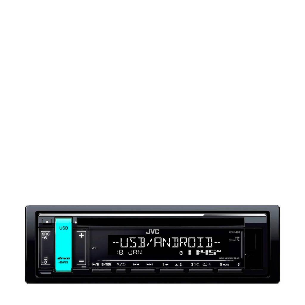 JVC KD-R491 Autoradio, Zwart