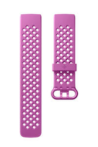 Fitbit Charge 3 sportbandje Small (Paars)