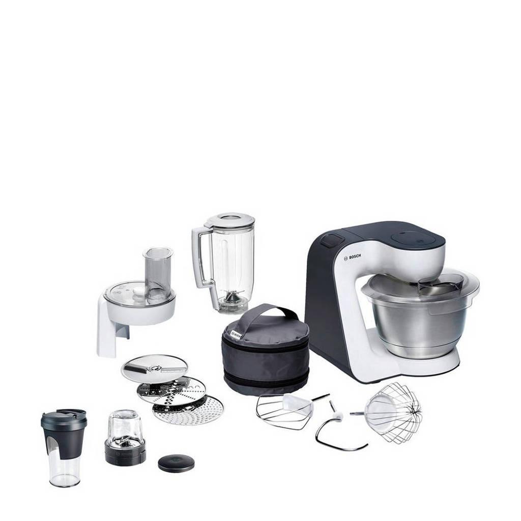 Bosch MUM50149 keukenmachine, Wit/antraciet