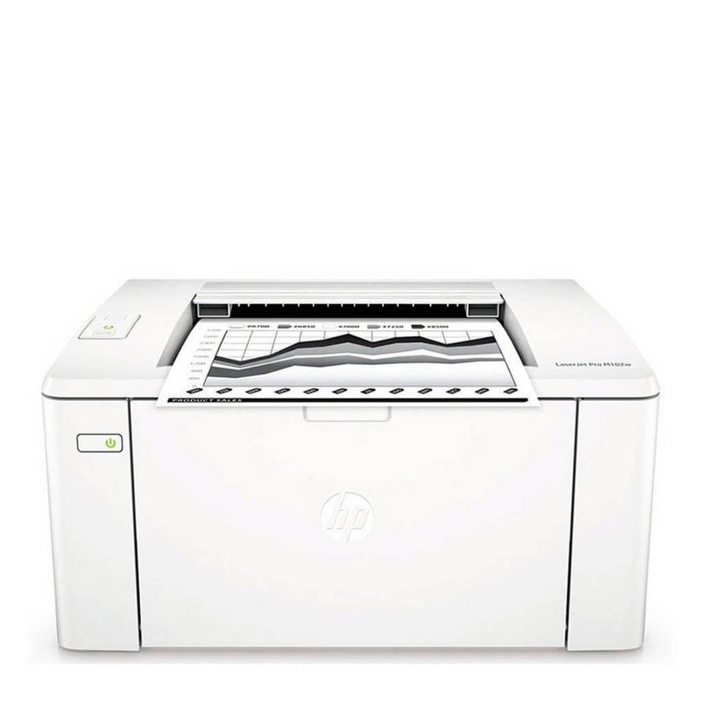 HP LaserJet Pro M102a laserprinter, Wit