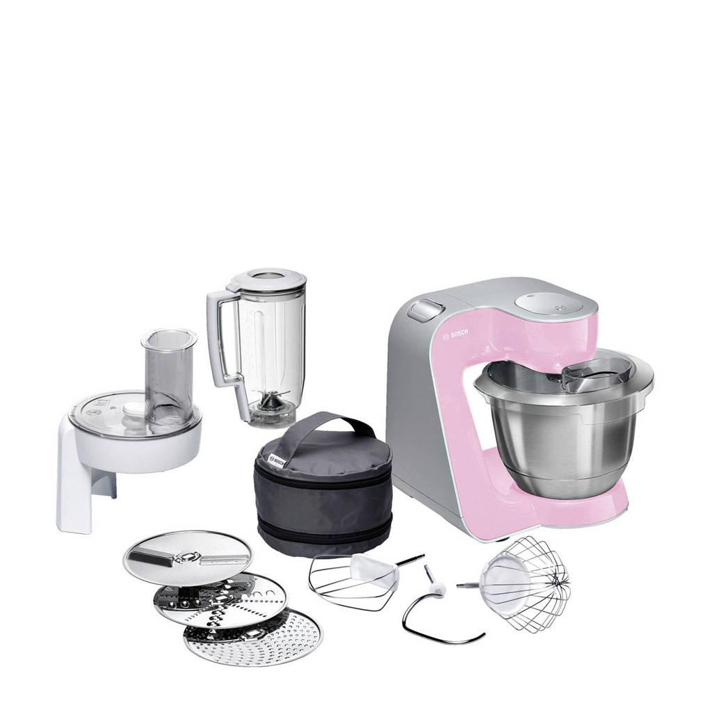 Bosch MUM58K20 keukenmachine, Roze