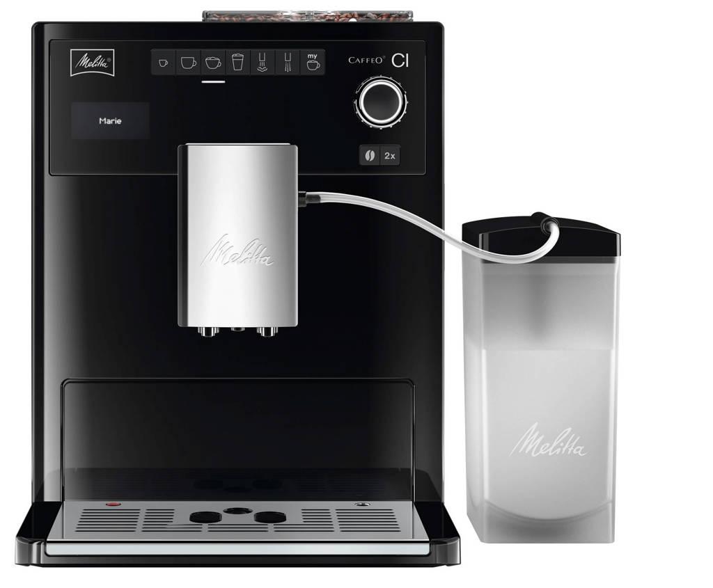 Melitta E970-103 koffiemachine, Zwart, wit