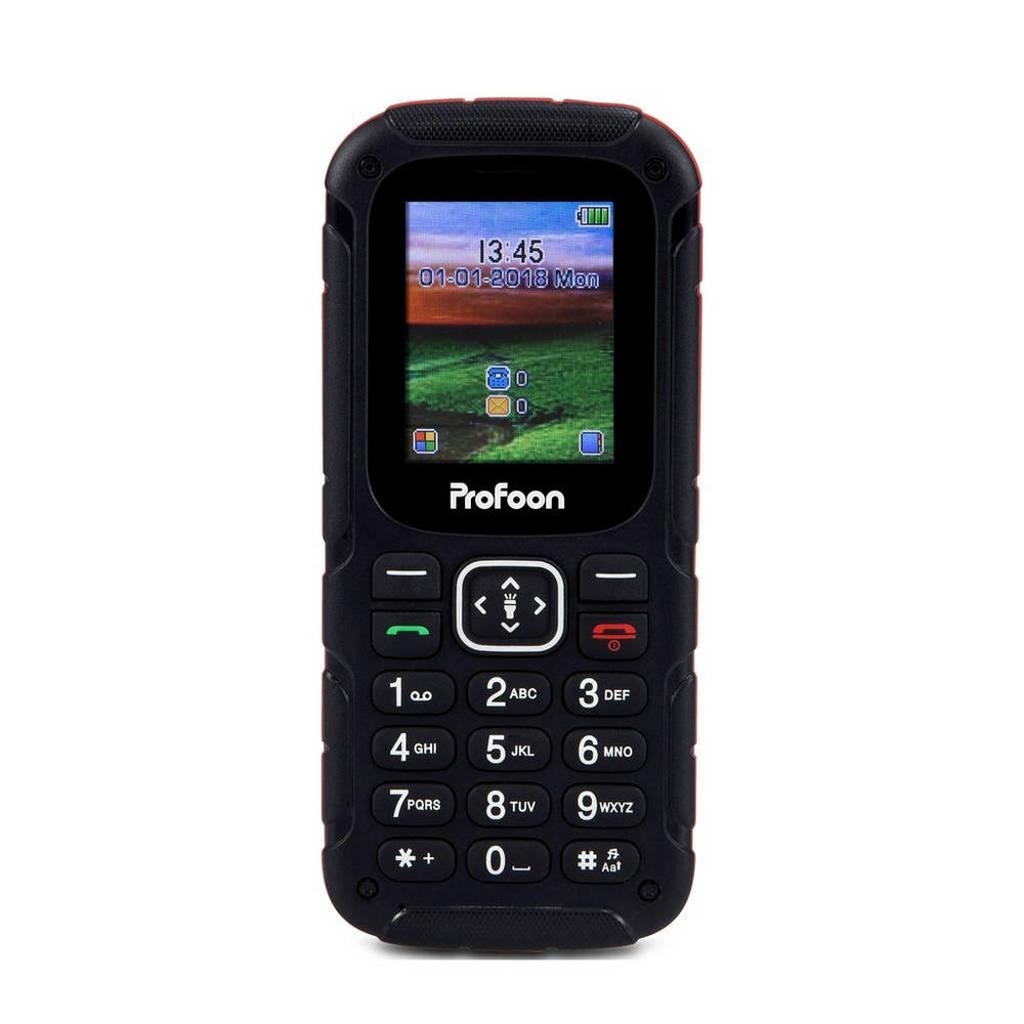 Profoon Outdoor GSM met SOS, Zwart