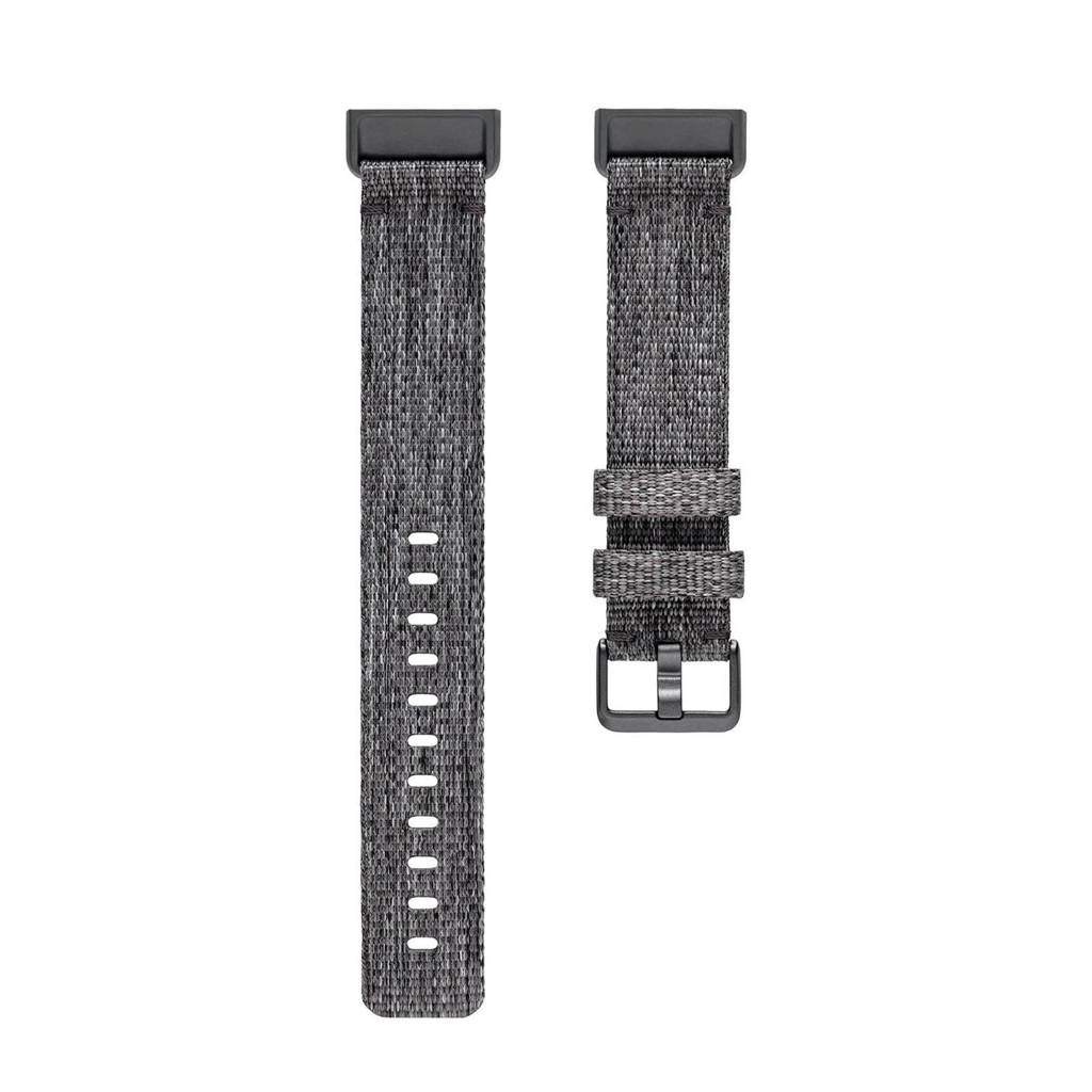 Fitbit Charge 3 polsband (maat S), Grijs