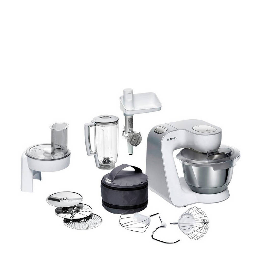 Bosch MUM58231 keukenmachine, Wit/zilver