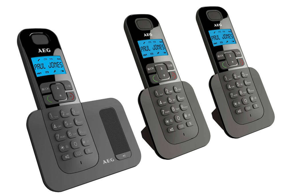 AEG Voxtel D500 Triple huistelefoon, Nee
