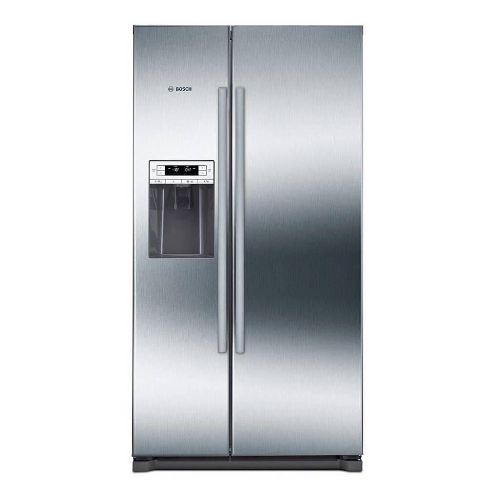 Bosch KAD90VI20 Amerikaanse koelkast, Roestvrijstaal