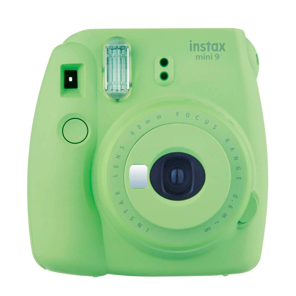 Fujifilm Instax Mini 9 analoge camera, Lime Green