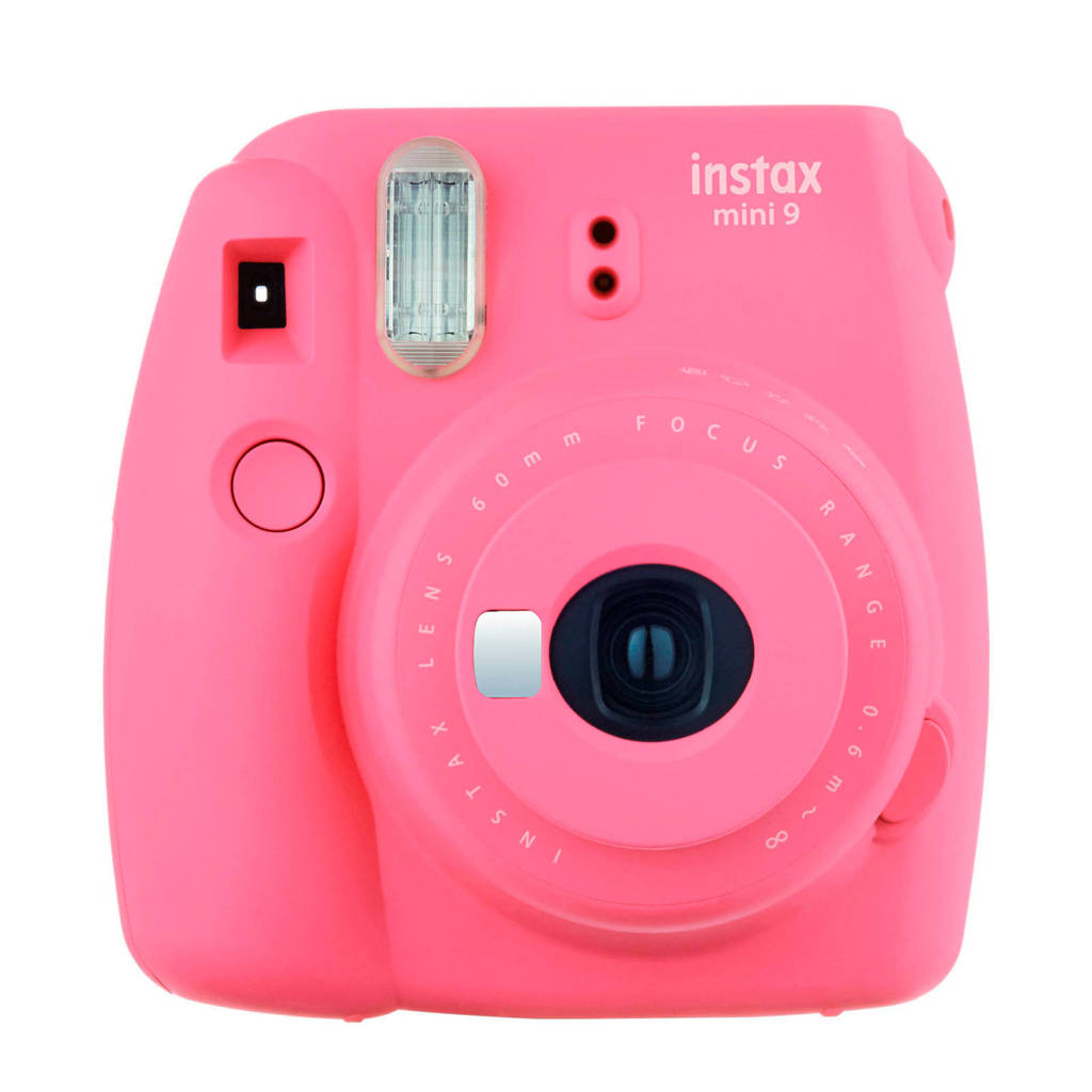 Fujifilm Instax Mini 9 analoge camera, FLAMINGO PINK