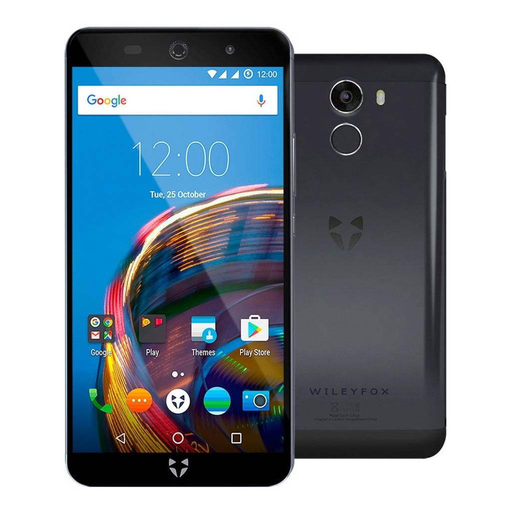 Wileyfox Swift 2+, Zwart