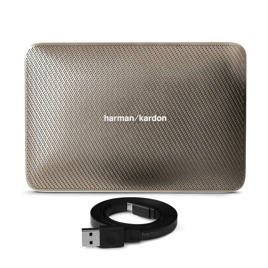 Harman Kardon Esquire 2  Bluetooth speaker, Goud