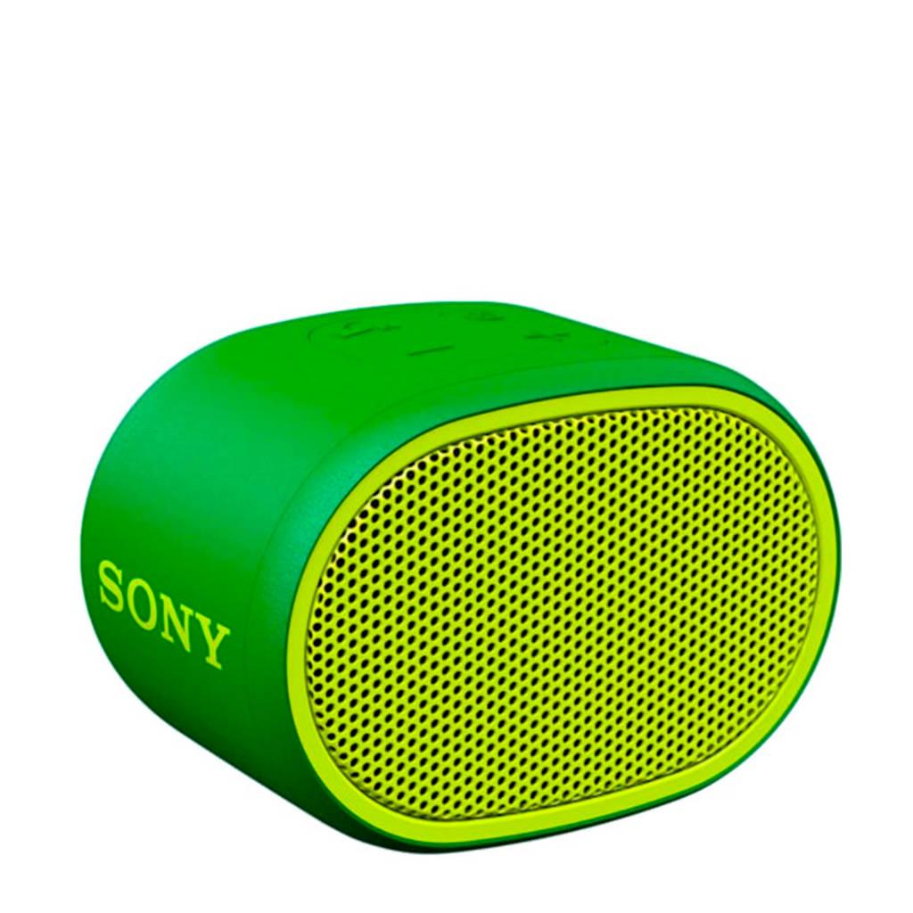Sony SRSXB01G  Bluetooth speaker, Groen