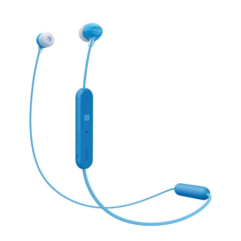 Sony WI-C300L in ear bluetooth koptelefoon, Blauw