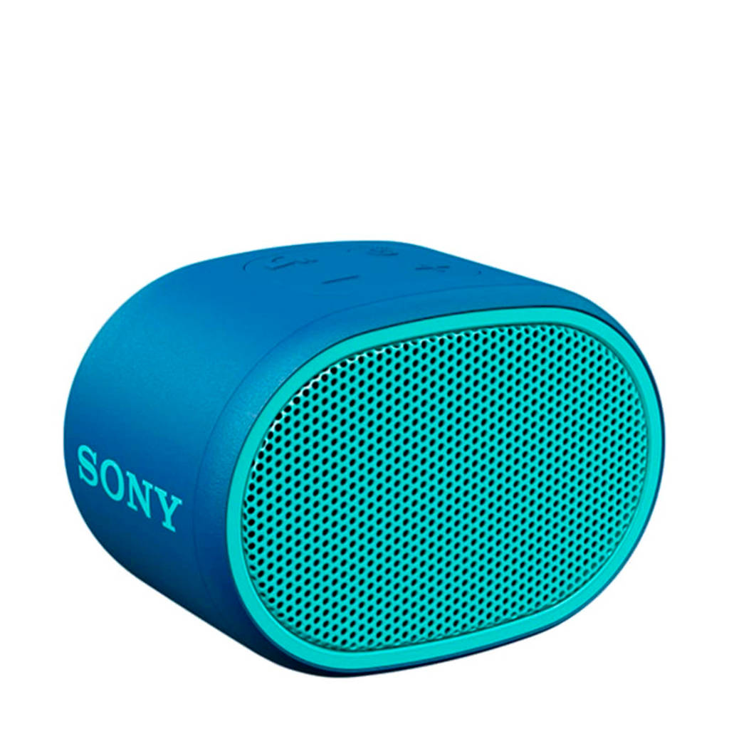 Sony SRSXB01L  Bluetooth speaker, Blauw