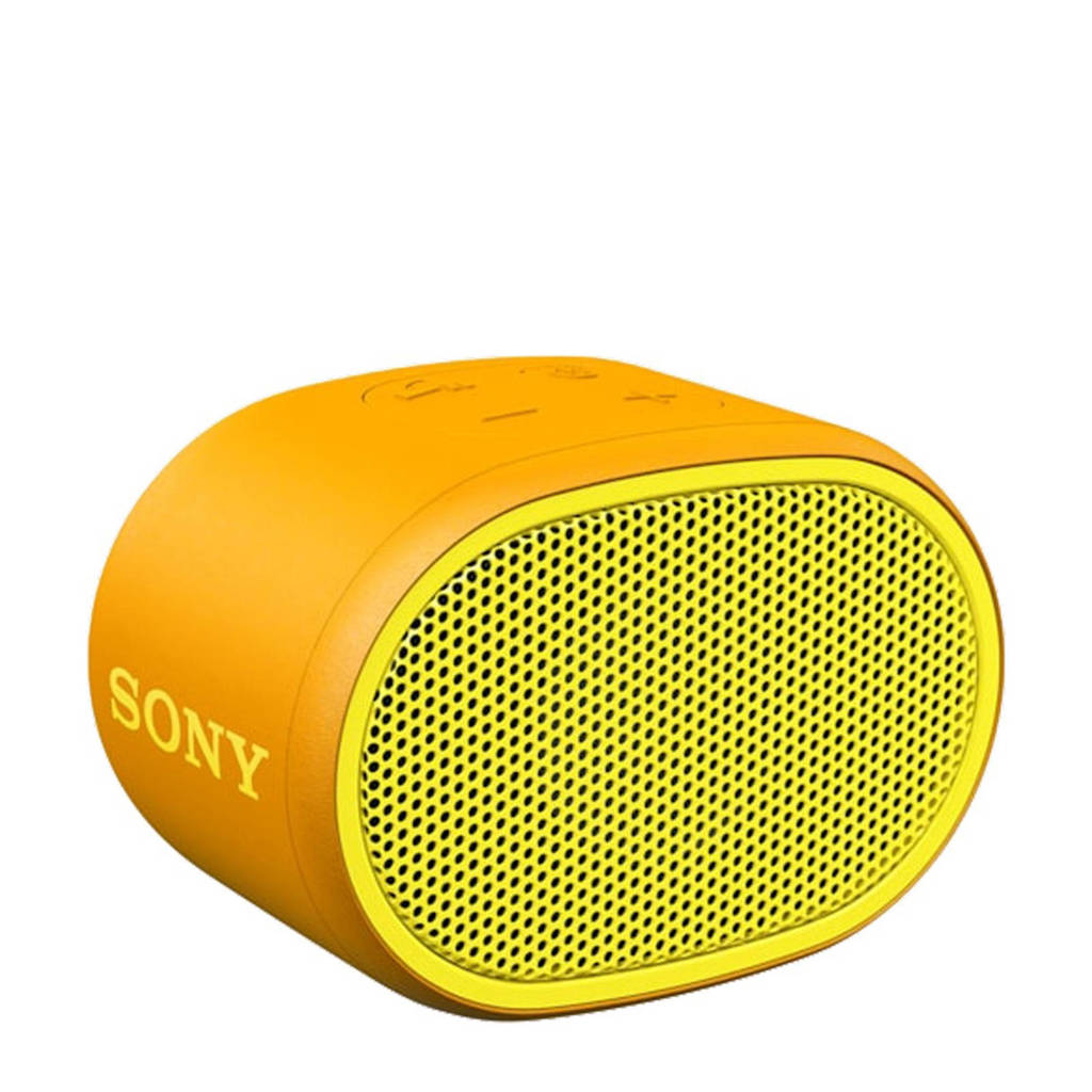 Sony SRSXB01Y  Bluetooth speaker, Geel