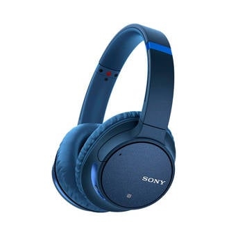 over-ear bluetooth koptelefoon met noice cancelling WH-CH700N blauw