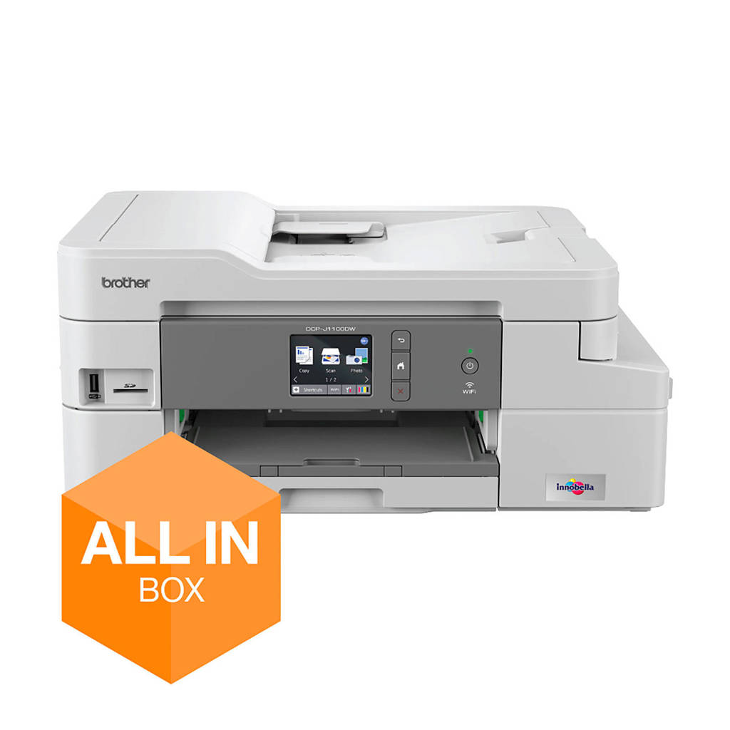Brother DCP-J1100DW (ALL-IN-BOX) inkjetprinter, Grijs