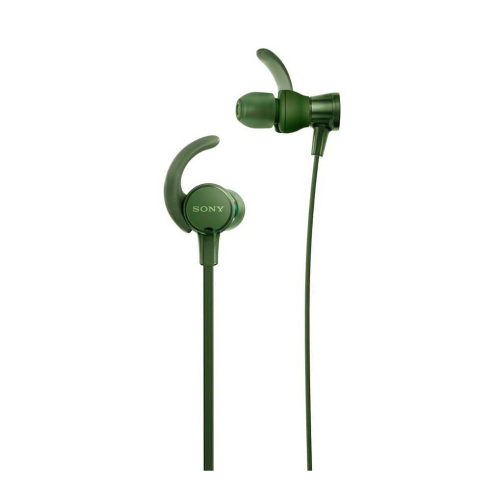 Sony MDR-XB510 in-ear koptelefoon groen, Groen