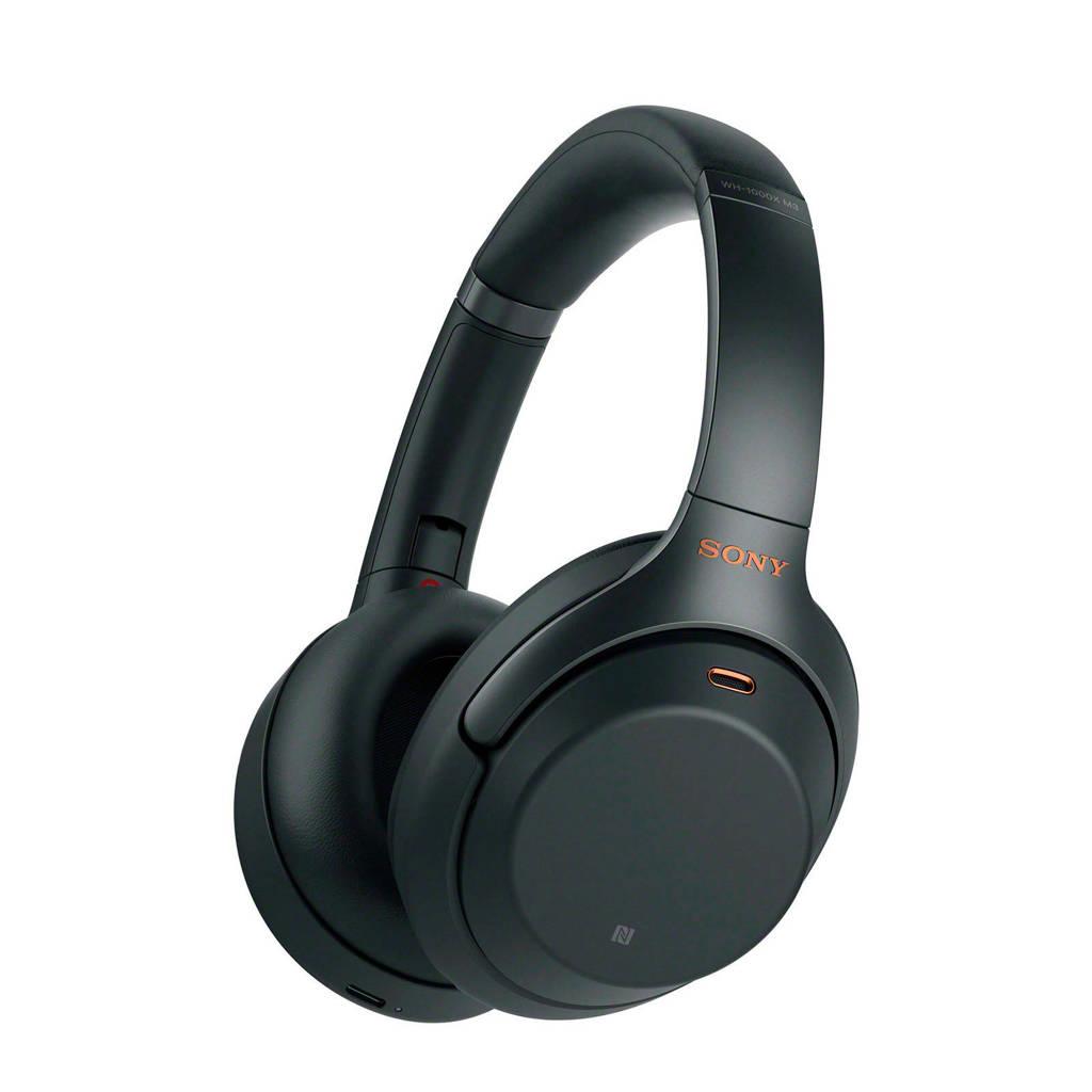 Sony WH1000XM3B draadloze over-ear koptelefoon, Zwart