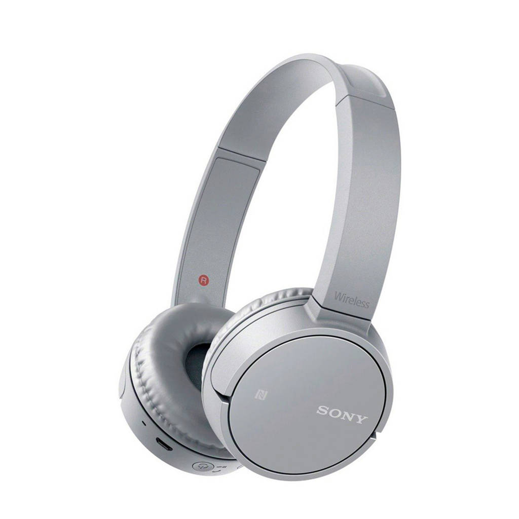 Sony On-ear bluetooth koptelefoon WH-CH500 zilver, Zilver