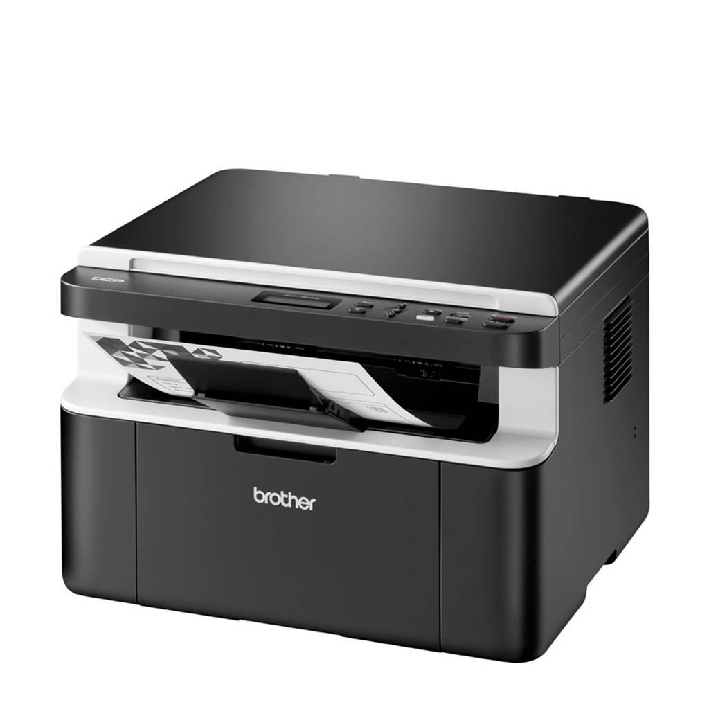 Brother DCP-1612W (ALL-IN-BOX) draadloze laserprinter, Zwart, zilver