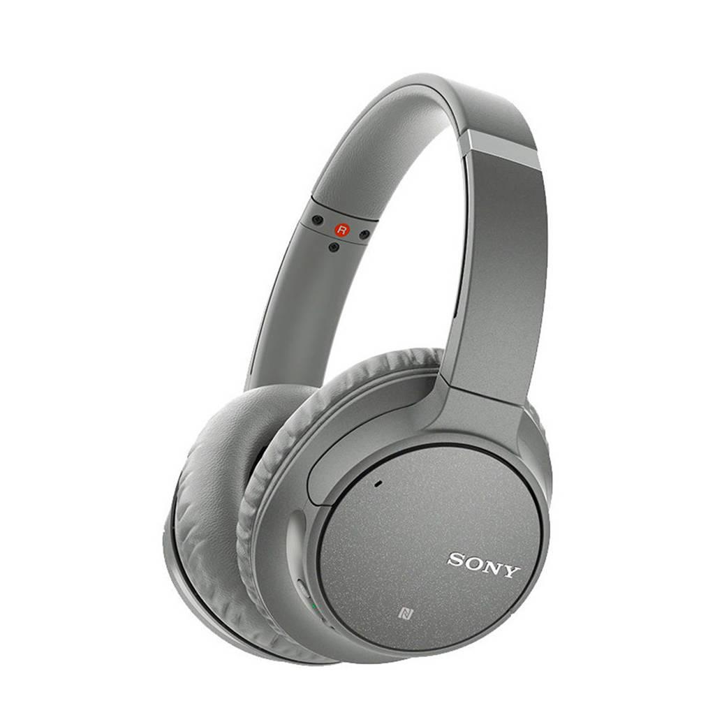 Sony over-ear bluetooth koptelefoon met noice cancelling WH-CH700N grijs, Grijs