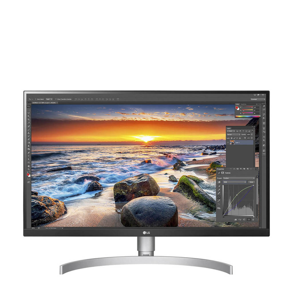 LG 27UK850-W 27 inch 4K Ultra HD IPS monitor
